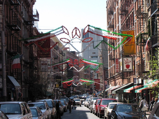 Mulberry Street in Little Italy, Manhattan | Flickr - Photo Sharing!