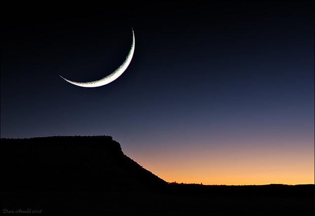 El Malpais moon