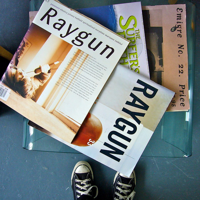 raygun issues surfer and emigre flickr photo sharing
