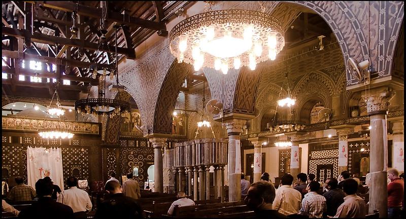 Misa en la Iglesia Colgante