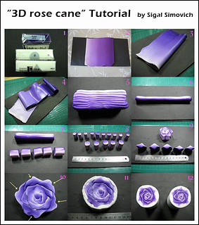 """3D rose cane"" Tutorial"
