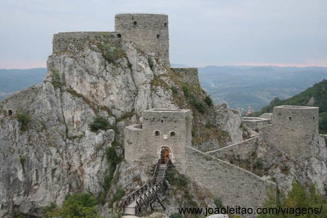 Fotografias do Castelo Srebrnik, Bósnia e Herzegovina