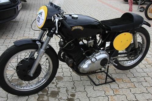 Vincent classic vintage Motorcycle Copyright 2009 B. Egger :: eu-moto images - All rights reserved 4780