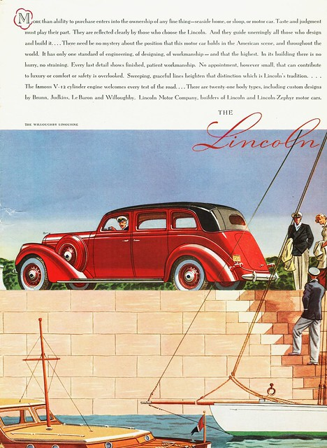 1937 Lincoln Limousine by Willoughby