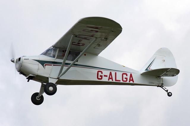 Piper PA-15  Vagabond G-ALGA