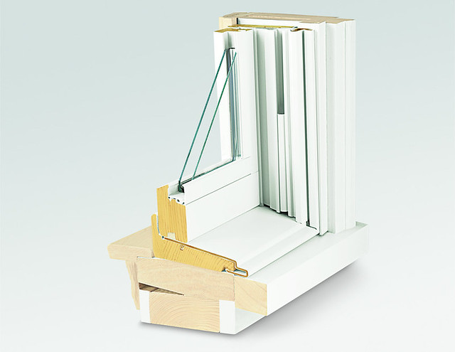 400 Series Tilt Wash Double Hung Insert Window 8 Degree