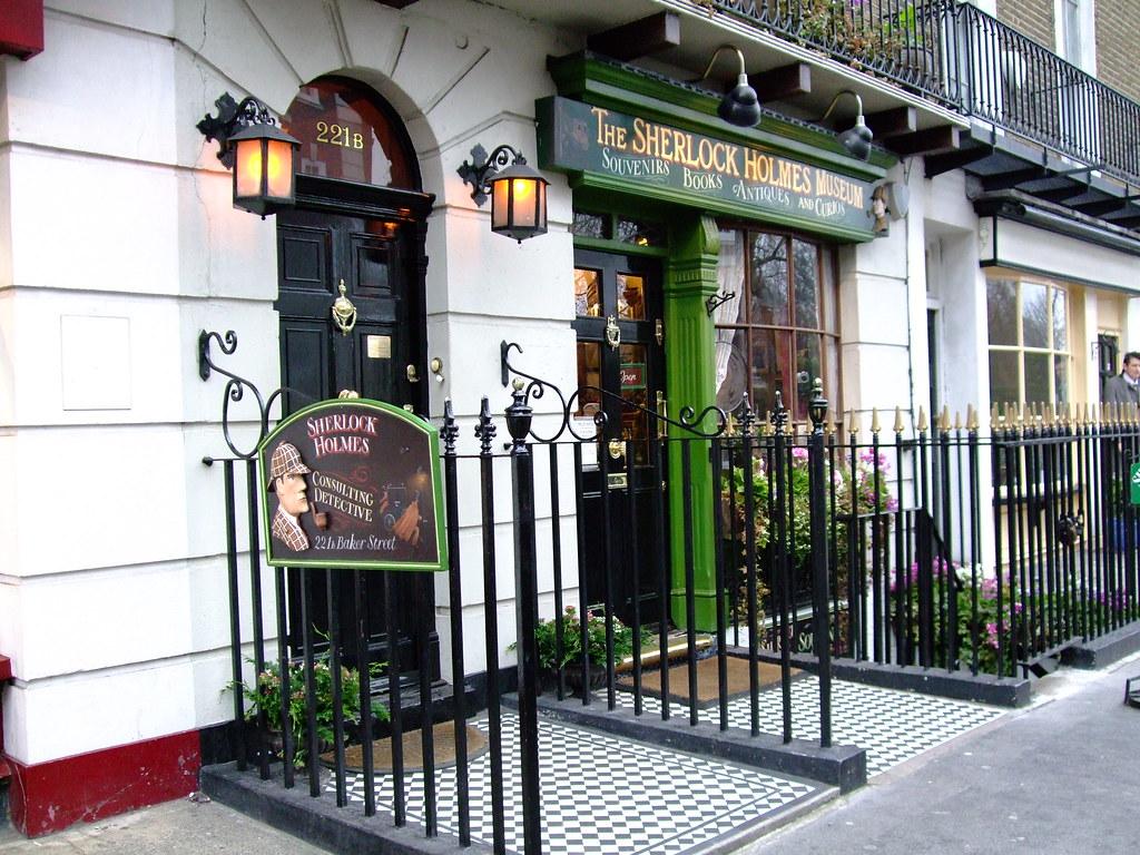 12.31.08 Sherlock Holmes Museum
