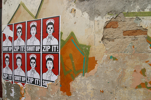 Shut Up/Zip It