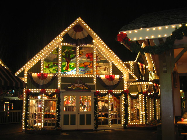 Dollywood Theme Park -- Christmas Lights | Flickr - Photo Sharing!