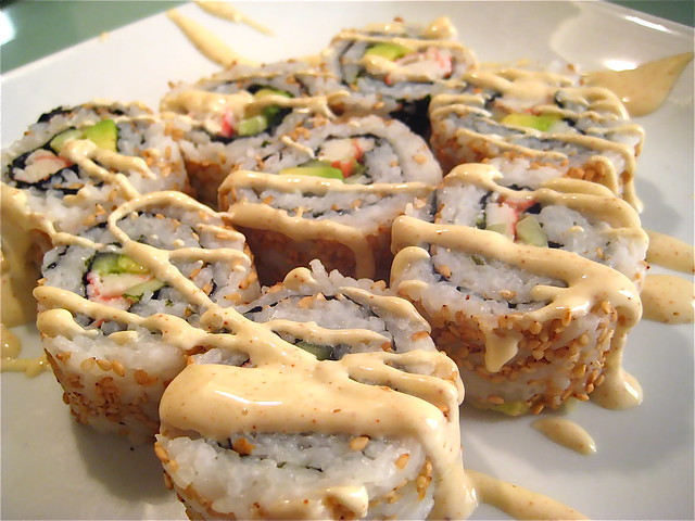 California Roll Sushi w/ Spicy Mayo | Explore delo718's phot ...