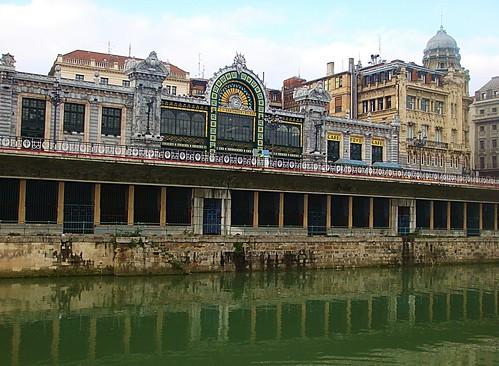 La estación de La Naja en Bilbao