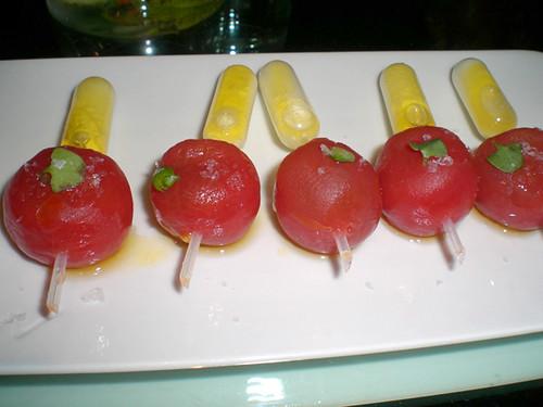 Tomato Mozzarella Pipettes, MyLastBite.com