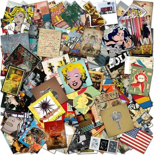 pop art is alive classics and modern artworks collage flickr photo sharing. Black Bedroom Furniture Sets. Home Design Ideas