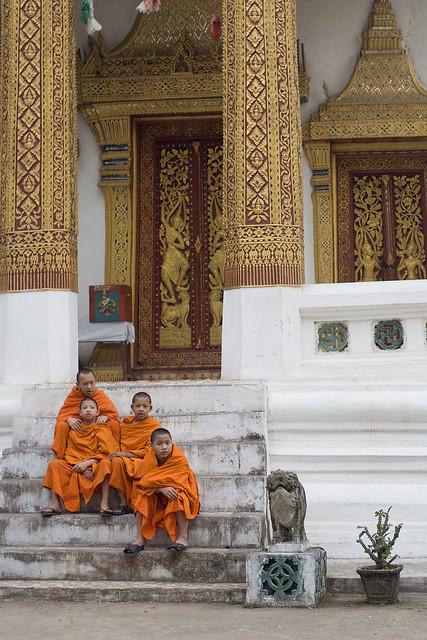 Novice Buddist Monks