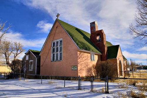 St Mark's Episcopal Church - Hanna, WY