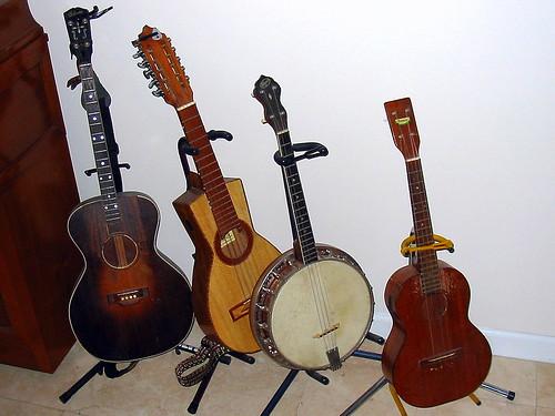 Tenor Guitar ,Quattro, Banjo, Baritone Uke by kenschneiderusa