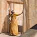 Woman and Door by OneEighteen