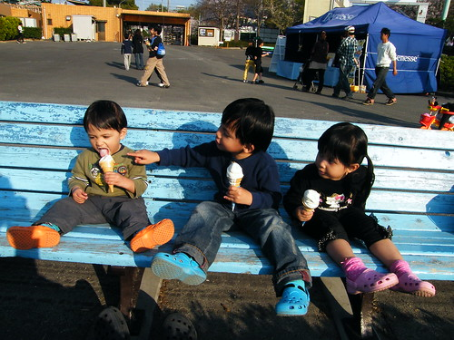 Kids - We love ice cream