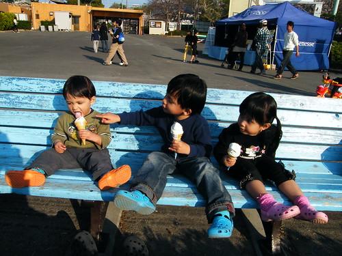 Kids - We love ice cream