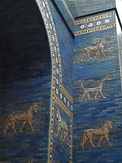 Section of Ishtar gate of Babylon, Pergamonmuseum, Berlin