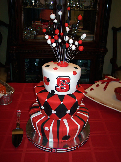 Raleigh Nc State Graduation Cakes