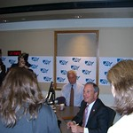 New York City Mayor Michael Bloomberg with Air America