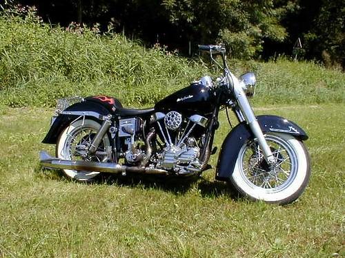 Harley Davidson FL Panhead Duoglide  1958 r