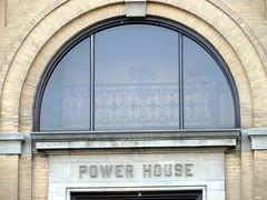 Power House window