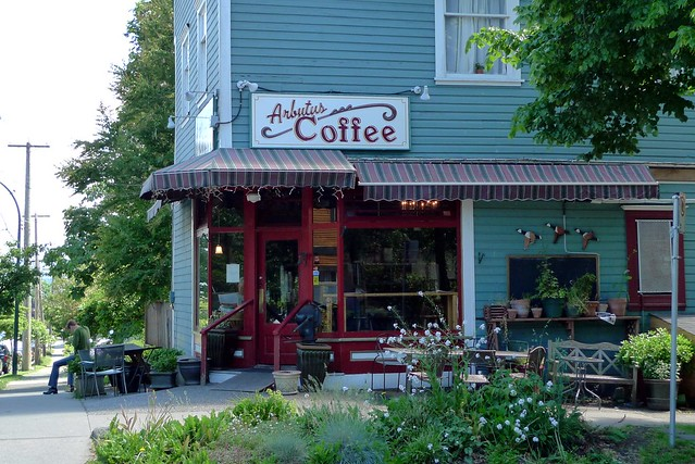 Arbutus Coffee Shop