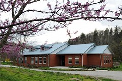 The Clearfork Community Institute in Eagan, Tenn., is housed in a renovated coal camp school, one of the last ones still standing in the Clearfork Valley.