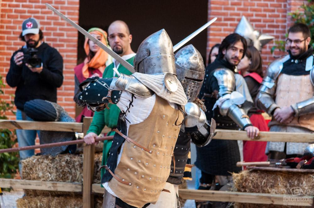 Luchas de Combate Medieval, el nuevo deporte del siglo XXI que causa furor