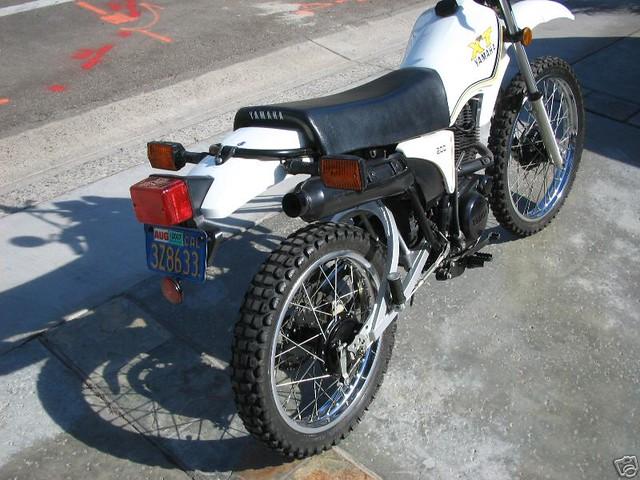 1983 yamaha xt 200 dual sport enduro jya21n001da000653 14