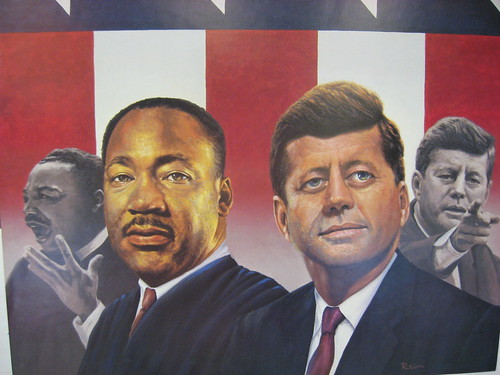 President John F. Kennedy and Martin Luther King, Jr.
