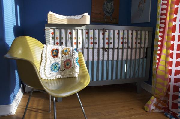 Blanket in Nursery