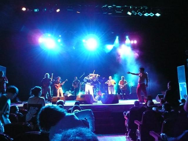 Emir Kusturica & The No Smoking Orchestra en el Teatro Arriaga (Bilbao), el 23 de Noviembre de 2008