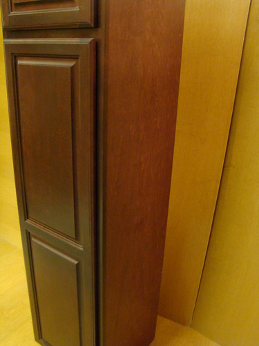 Kraftmaid Birch Kitchen Bathroom Pantry Cabinet 18 W Ebay