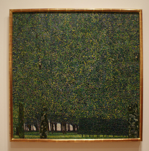 The Park - Gustav Klimt by griannan