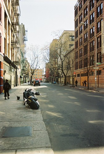 March 2004 Looking East on Bleecker to Bowery & CBGB