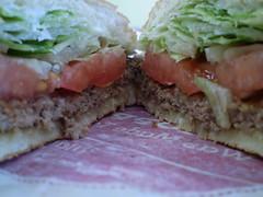 blt, sandwich, lunch, hamburger, muffuletta, meat, veggie burger, food, dish, cuisine,