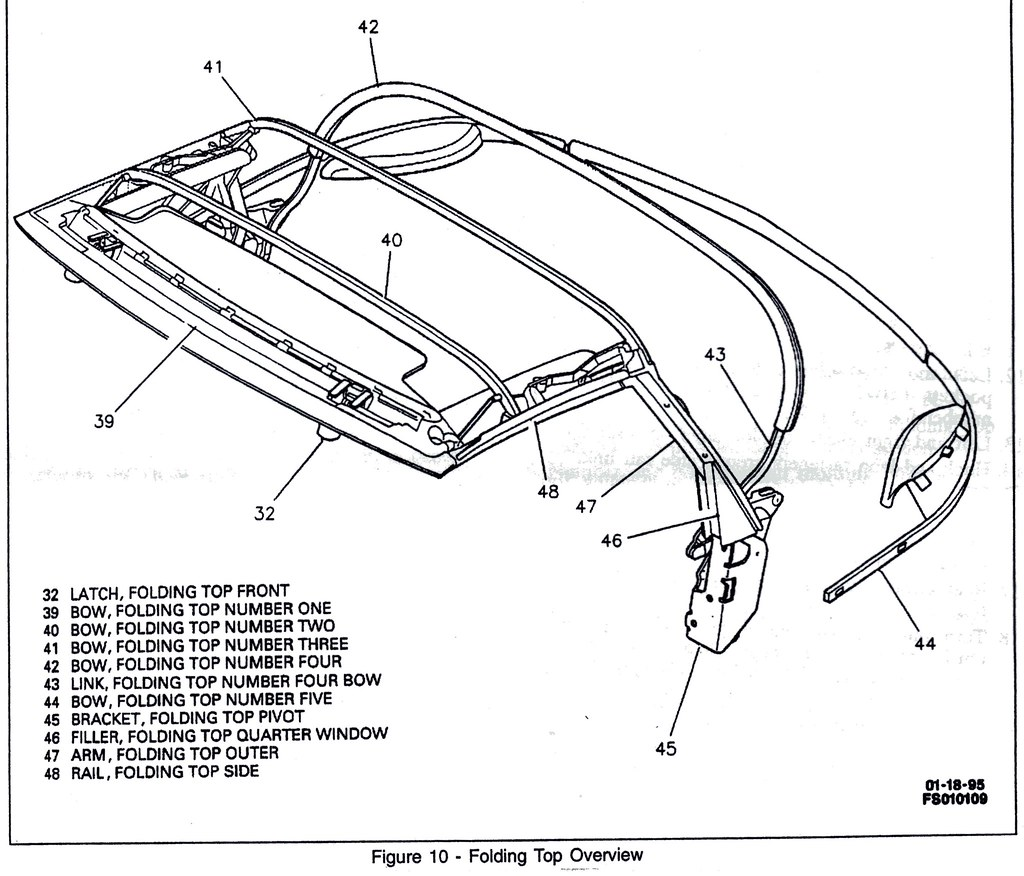 1967 pontiac gto parts diagram