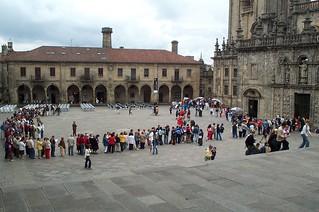 Plaza de la Quintana, Santiago de Compostela
