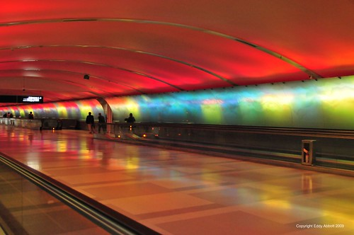 Psychedelic Tunnel at DTW