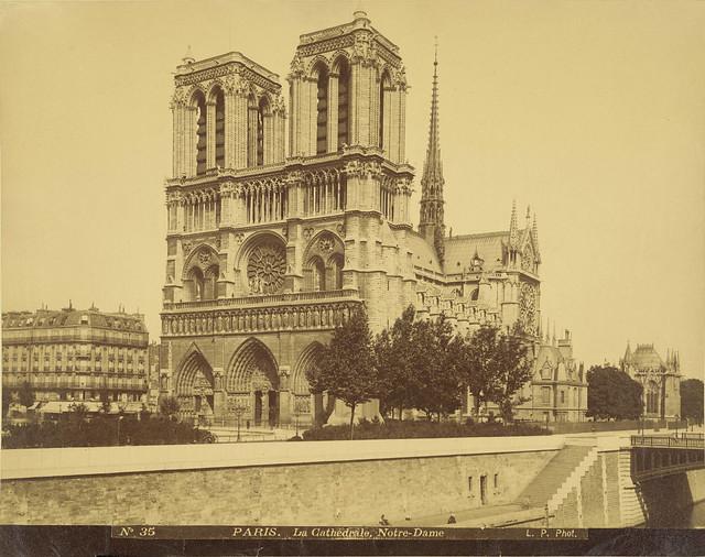 Paris. Notre-Dame Cathedral