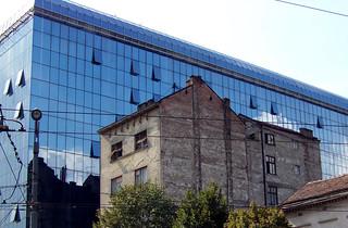 Contrasts in Belgrade