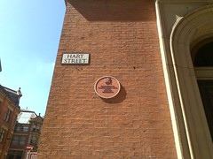 Photo of Co-operative Insurance Company red plaque