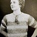 1930s vintage knitted blouse