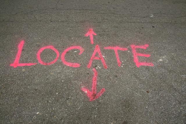 Header of locate