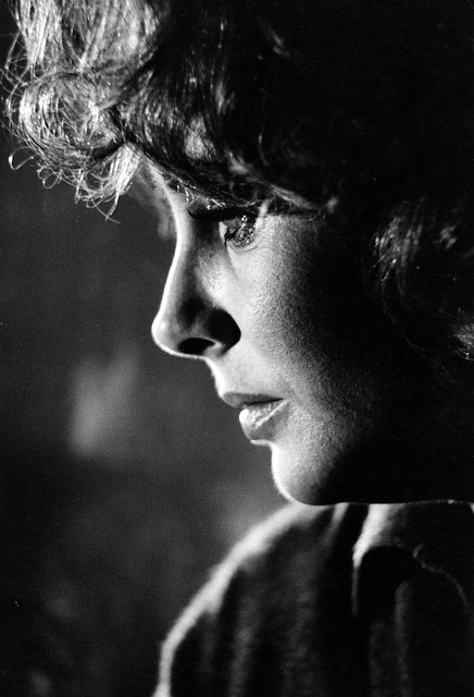 Elizabeth Taylor on the Warner Brothers set of 'Who's Afraid of Virginia Woolf' 1965, by Bob Willoughby