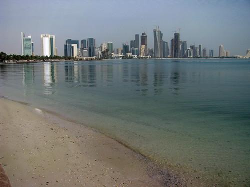 Doha Corniche Foto Atribución Creative Commons / Flickr: Pedronet