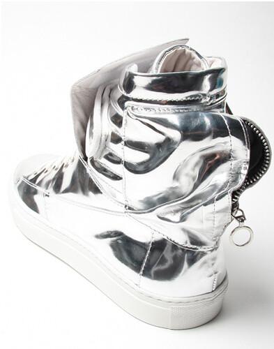 silver astronaut shoes - photo #5